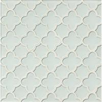 GLSMALWHLFLO - Mallorca Glass Mosaic - White Linen