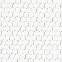 DECLEC11W - Le Cafe Mosaic - White