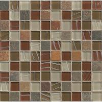 GLSELM0101-RS - Elume Mosaic - Ruby Silk