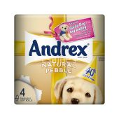 Andrex Toilet Tissue Natural Pebble