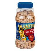 Planters Dry Roasted Unsalted Peanuts Bottle