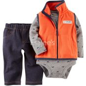 Carters  Boy Vest Set 3 Piece
