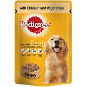 Pedigree Pouch Chicken & Vegetable Dog Food