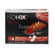 Kotex Ultra Night Time with Wings