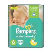 Pampers Active Baby Economy Pack 6 Extra Large