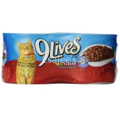 9Lives 9lives Cat Food Tuna Real Flaked In Sauce