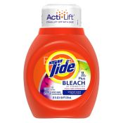 Tide Plus Bleach Alternative Liquid Laundry Detergent Original Scent