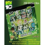 Bookland  Books Ben10 Sticker Box