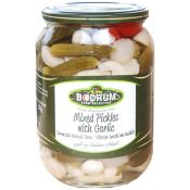 Bodrum Mix Pickled With Garlic Pickles