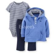 Carters  Boys Hooded Pullover & Pant Set