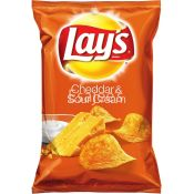 Lays Cheddar & Sour Cream Chips