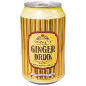 Royalty Soft Drink Ginger Beer Can