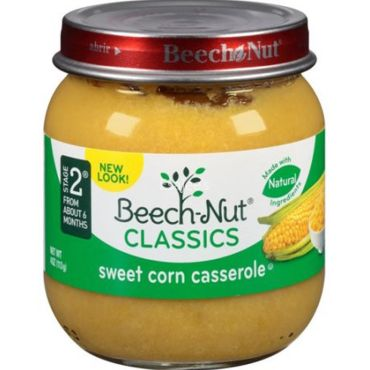 Beech Nut Baby Food Stage  Corn