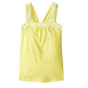 The Children's Place  Girl Embroidered Tank Shooting Star
