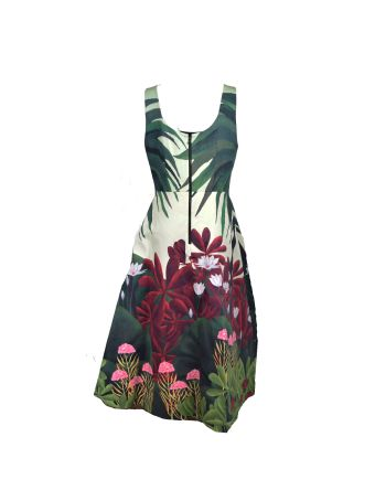 Alice + Olivia Printed Dress