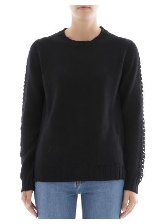 Black Wool Knitwear