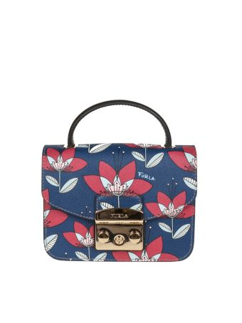 Furla Metropolis Mini Leather Multicolor