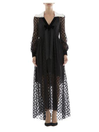 Black Cotton Long Dress