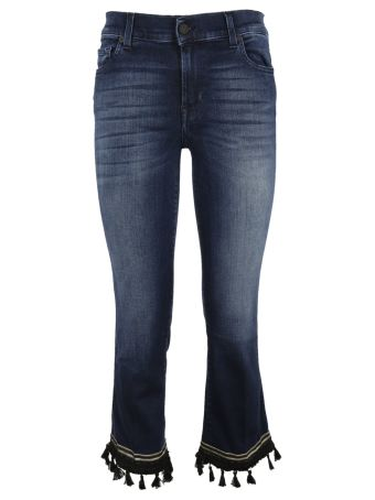 7 All Minkind 7 For All Mankind Cropped Jeans
