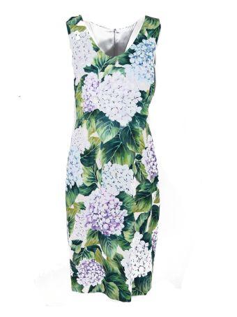 Dolce & Gabbana Hydrangea Dress
