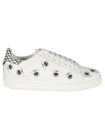 Master Of Arts Embroidered Bee Sneakers