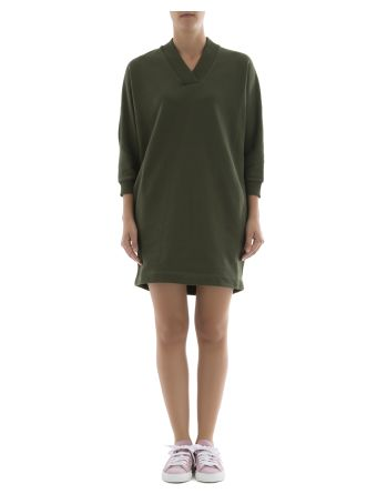 Green Cotton Dress