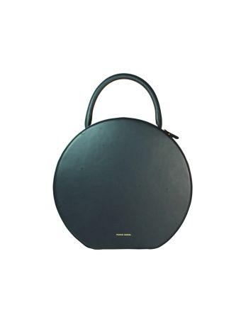 Dark Blue Circle Bag