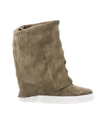 Flat Booties Shoes Women Casadei