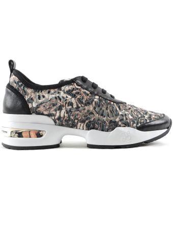 Ermanno Scervino Animal Print Sneakers