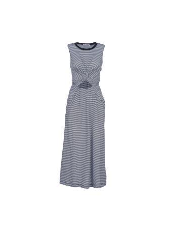 T By Alexander Wang Striped T-shirt Dress