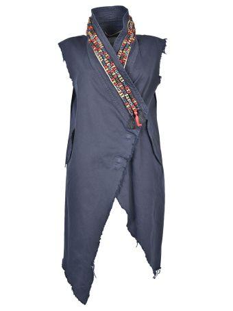 Bazar Deluxe Embroidered Collar Vest