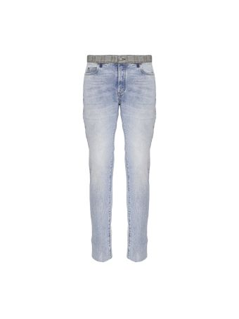Maison Margiela Re-edition Contrast Waistband Jeans