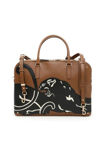 Briefcase With Double Handle