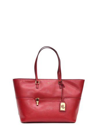 Ralph Lauren Leather Shopping Bag