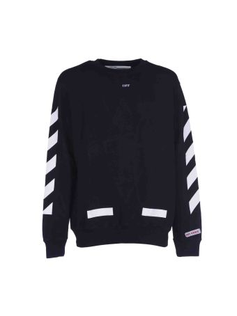 Off White Diag Arrows Crewneck