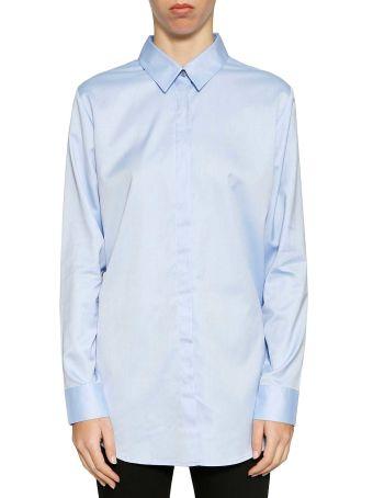 T By Alexander Wang Cotton Button Down Shirt