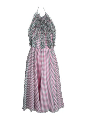 Blumarine Ruffle Details Dress