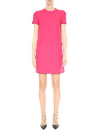 Valentino Mini Dress With Studs