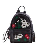Chiara Ferragni Flower Embroidered Backpack
