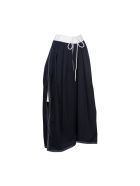 Chloé Nautical Drawstring Skirt