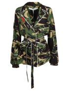 Off-white Camouflage Shirt