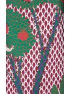 RED Valentino Fantasy Landscape-jacquard Long Skirt