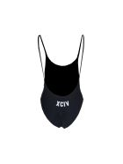 Gcds Logo Embroidered Swimsuit