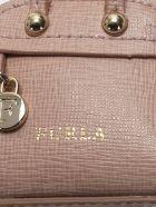 Pink Leather Keyring