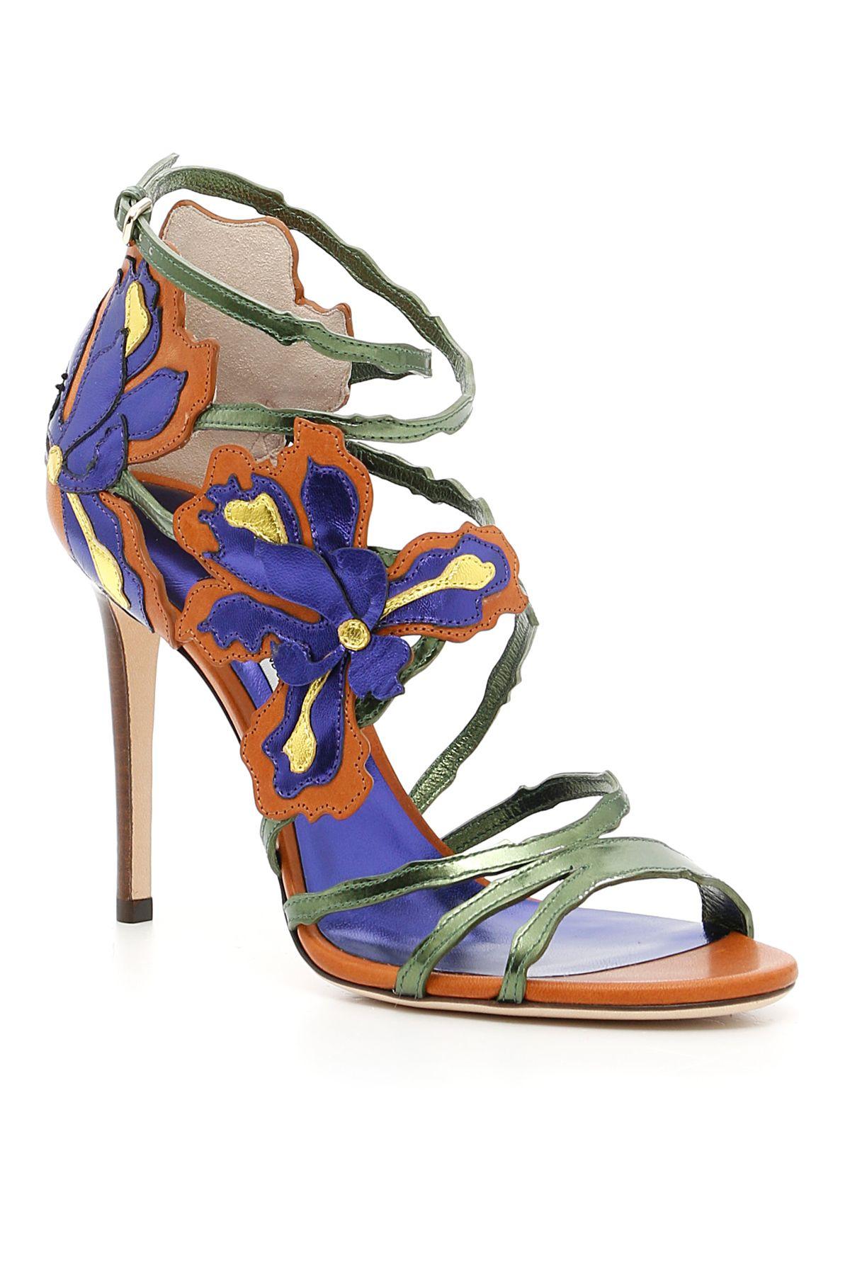 Lolita Mirror Sandals