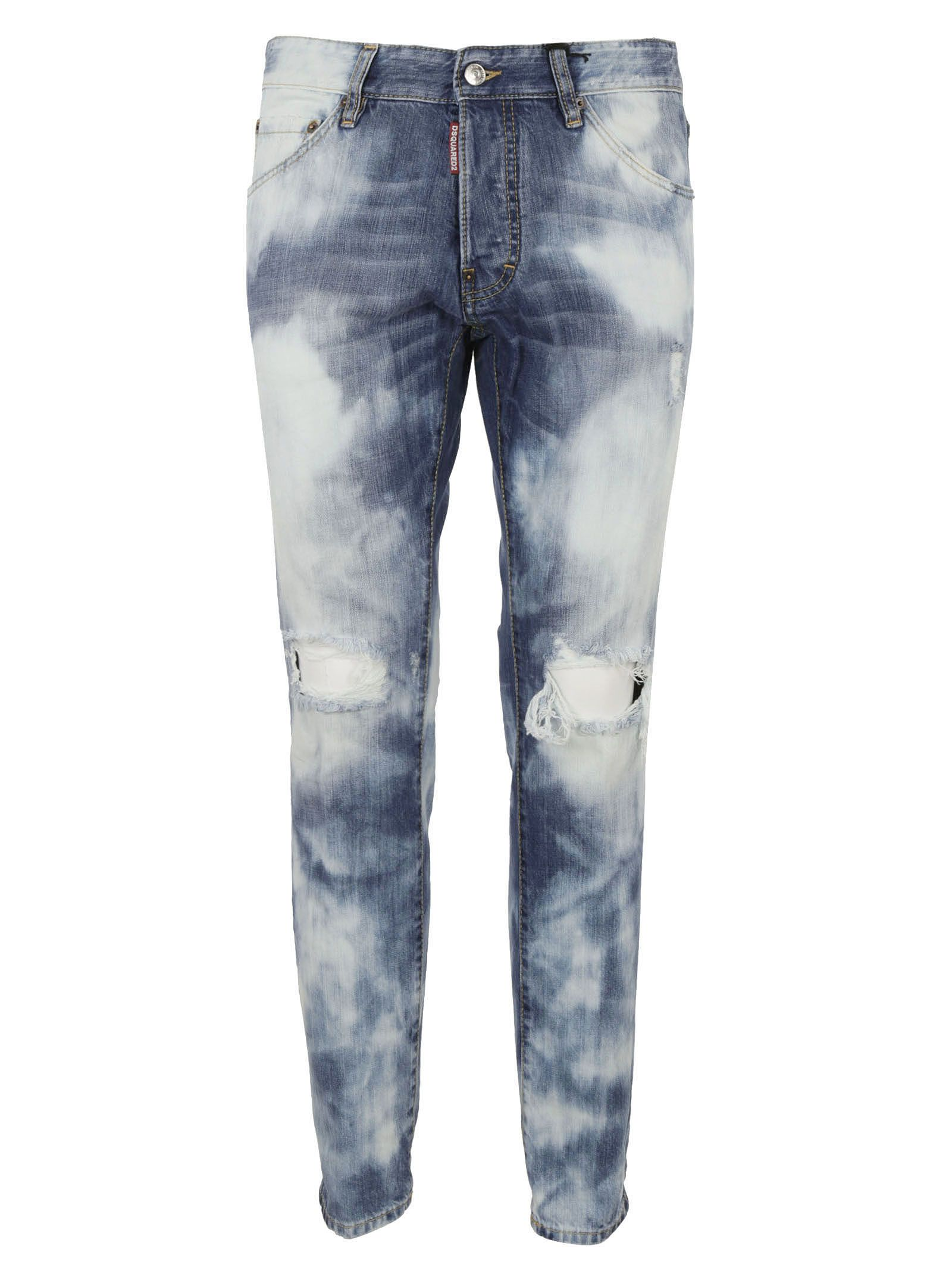 Dsquared2 Cool Guy Bleached Wash Jeans