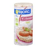 Organic 4 cereal rice cakes