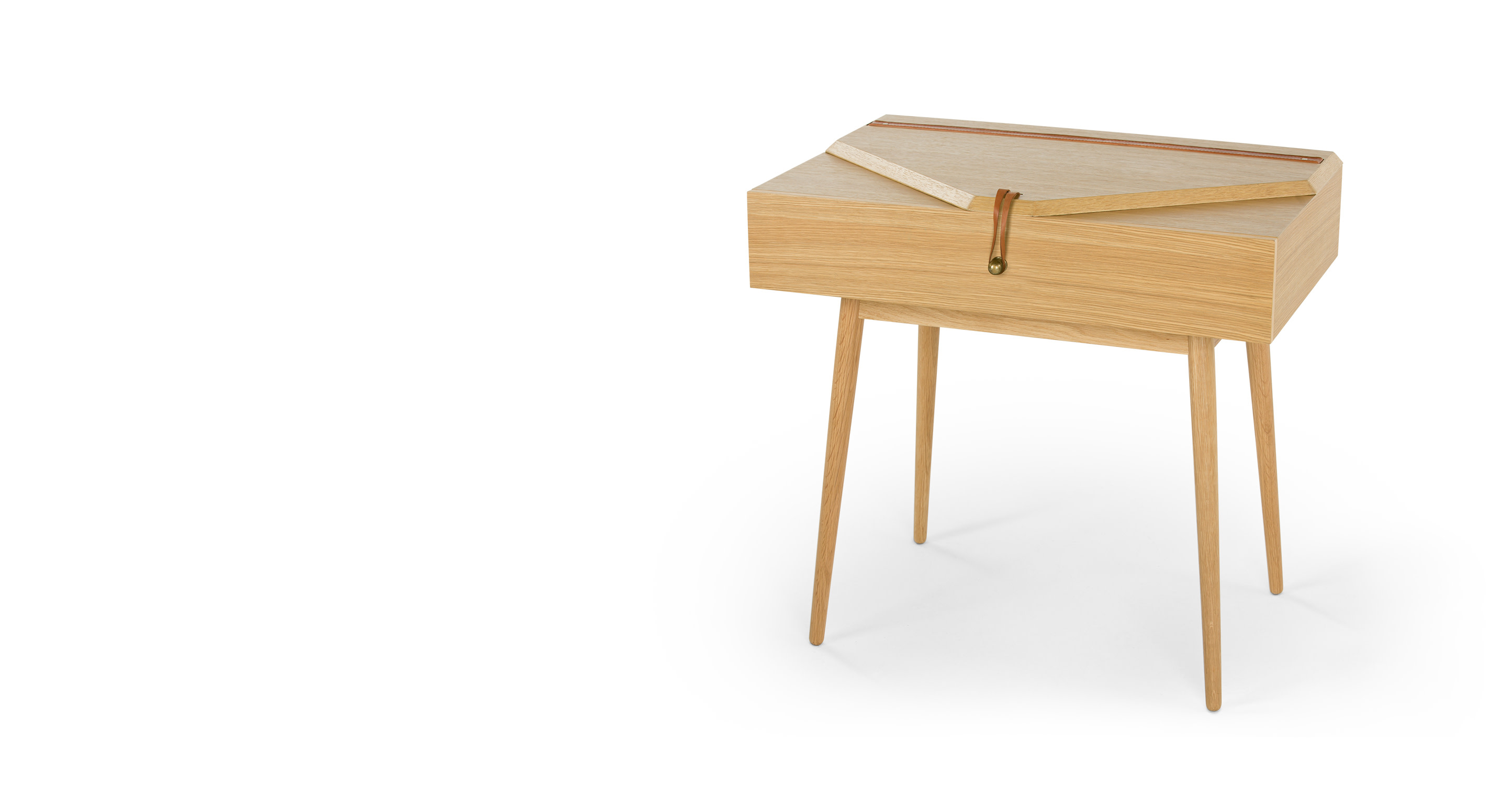Saphina dressing table oak for Made dressing table