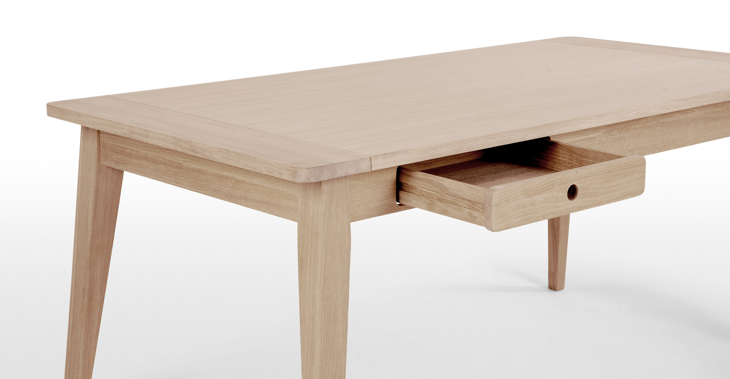 Anouk Dining Table Limed White Oak