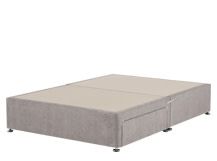 Skye 2 Drawer Kingsize Divan, Owl Grey